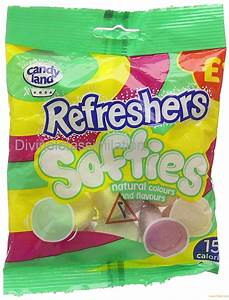Candyland Refresher Softies 120 G  Pack Of 12  Products