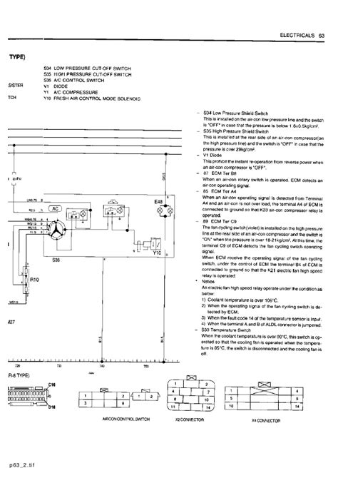 Wiring Diagram For Daewoo Cielo by Daewoo Service Electrical Manual