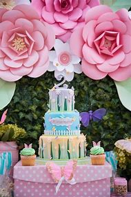 Butterfly Flower Birthday Party Ideas