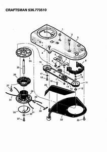Craftsman High Wheel Brush Trimmer Parts