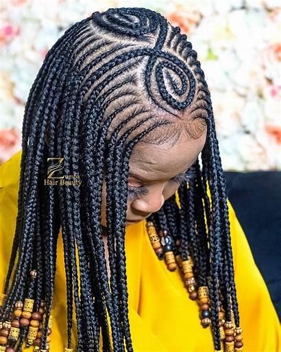 Hairstyles Latest Braided Braid Ankara Stylescatalog
