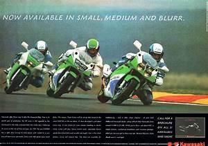 Racing Caf U00e8  Vintage Brochures  Kawasaki Kr 250  U0026 Zxr 400