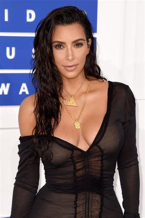 Kim Kardashian   Celebrity Hair and Makeup at the MTV ...
