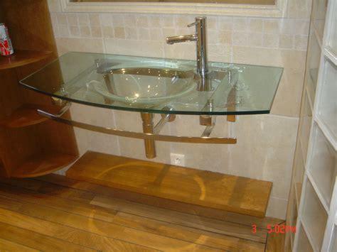 lavabo salle de bain en verre chaios