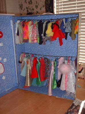 How To Make A Doll Wardrobe Closet by Diy Clothes Closet Before Everything Gets Mixed