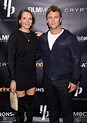Luke Hemsworth and his wife Samantha light up the premiere ...