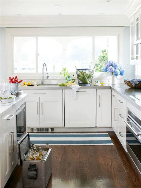 Decorating Ideas For White Kitchen Cabinets by Modern Furniture 2013 White Kitchen Decorating Ideas From Bhg