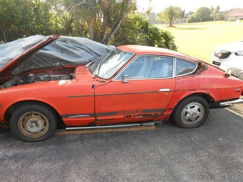 Sell Used Datsun 240z 1972 Great For Restoration Original