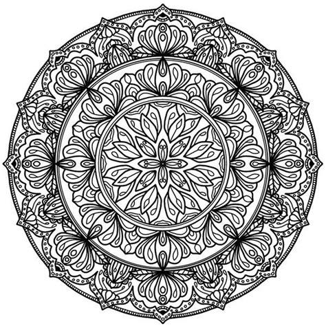 Coloring Krita by Krita Circles Mandala 10 By Welshpixie Print Image