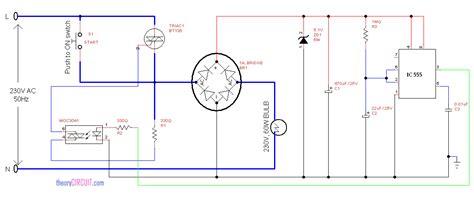 Auto Switch Off Light Circuit