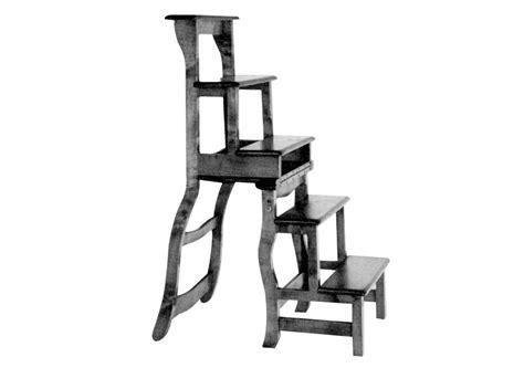 une chaise escabeau de biblioth 232 que bois le bouvet
