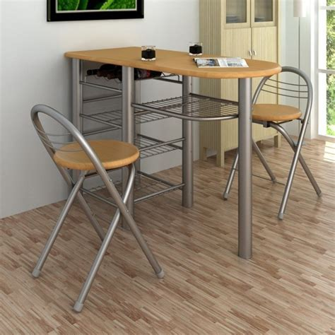 tables de cuisines kitchen breakfast bar table and chairs set wood