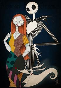 How to draw Jack y Sally