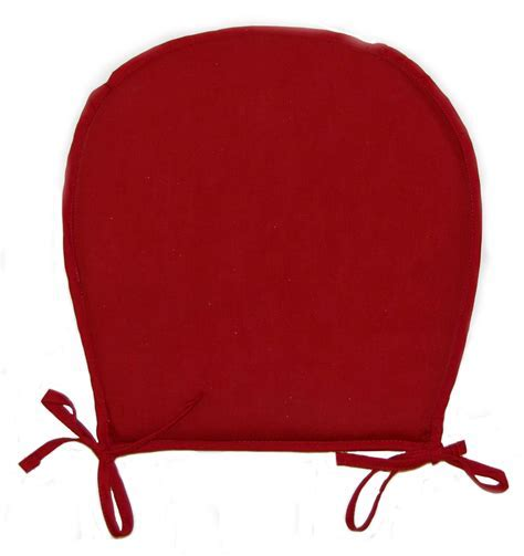 Chair Seat Pads Plain Round Kitchen Garden Furniture