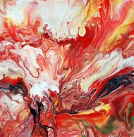 Mark Chadwick Fluid Painting Abstract