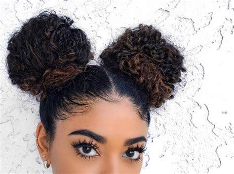 Best 25+ Curly Bun Ideas On Pinterest