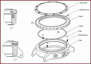 Damasko German Mechanical Watches Bezel Construction