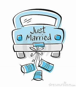 Just Married Car Clipart (46+)