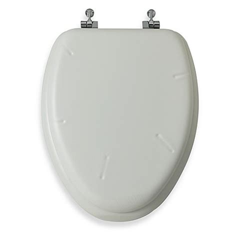 cushioned elongated toilet seat mayfair 174 white elongated cushioned vinyl soft toilet seat 6335