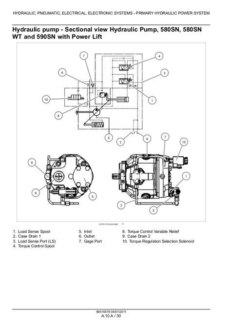 case sn wt tractor loader backhoe service repair manual