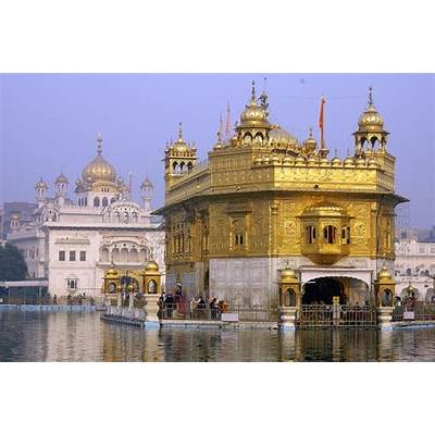 Golden Temple A Sikh Gurdwara In Amritsar Punjab India