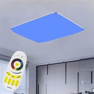 48W 96W LED Deckenleuchte RGB Dimmbar Farbwechsel