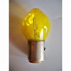 Bulb 12v 45w Ba20s  Yellow