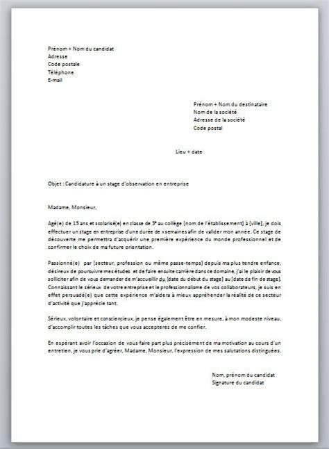 Extrait Cv by Les 25 Meilleures Id 233 Es De La Cat 233 Gorie Exemple Lettre
