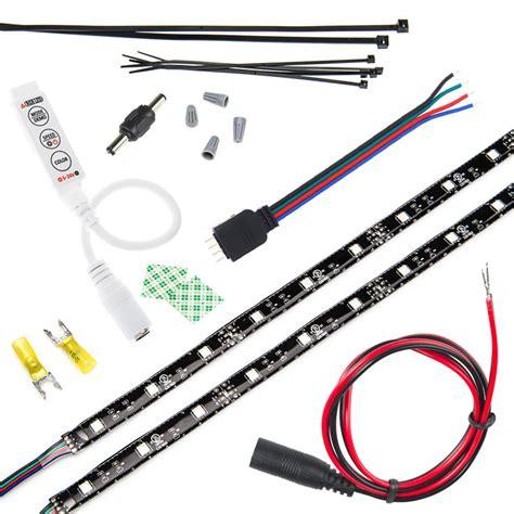 led video light kit motorcycle led lighting kit weatherproof rgb color