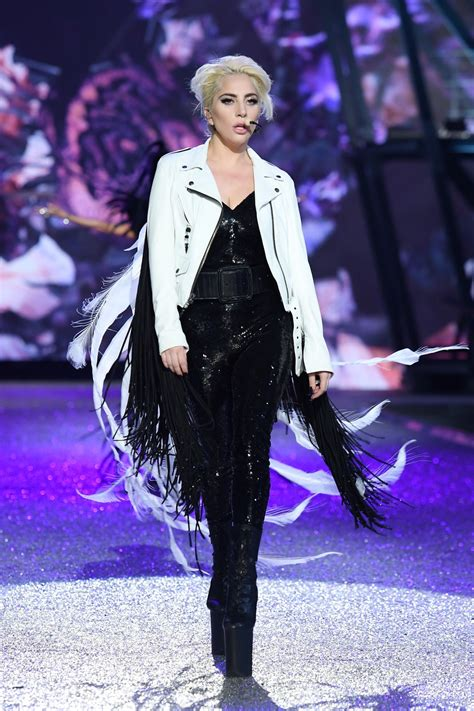 Lady Gaga's Outfits At the 2016 Victoria's Secret Fashion ...