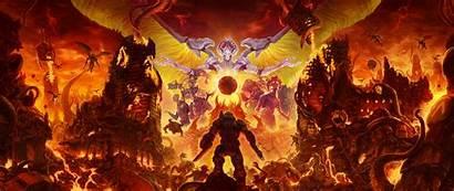 Doom Eternal Wide Dual Widescreen Resolution