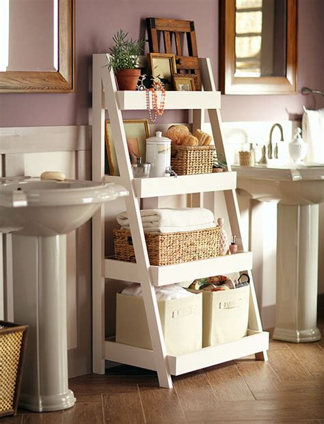 clever bathroom storage ideas hative