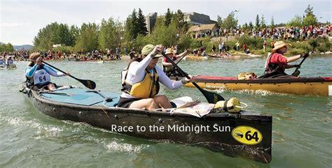 Paddle Boat Rental Huntsville by Yukon River Quest Race To The Midnight Sun Yukon