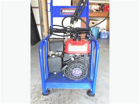 gas powered simoniz pressure washer oak bay