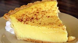 Old Fashioned Custard Pie Recipe Flavorite