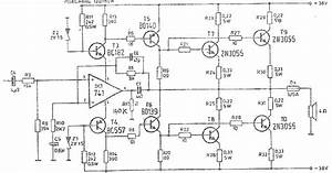 High Power Audio Amplifier Schematic Diagrams