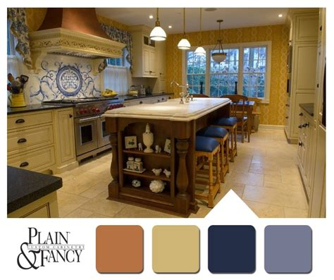 country kitchen colour schemes pin by plain fancy custom cabinetry on colors that 6025