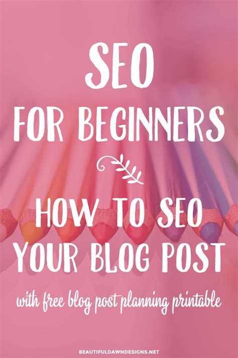 Marketing Für Anfänger by Seo For Beginners How To Seo Your Posts Updated For
