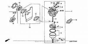 Honda Engines Gcv160 N7a1 Engine  Jpn  Vin  Gjae