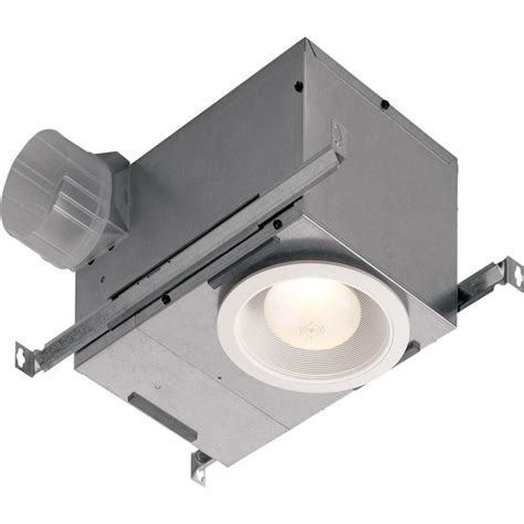 nutone light and exhaust fan nutone 70 cfm ceiling exhaust fan with recessed light