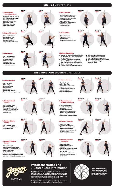 printable resistance band exercises band workout