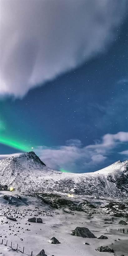 Snow Winter Mountains Layer Landscape Wallpapersmug Mountain