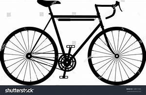 Vintage Retro Classic Road Racing Bike Stock Vector ...