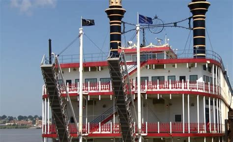 Evansville Indiana Casino Boat by Tropicana Riverboat Leaves Evansville Riverfront 44news