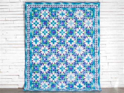 color crystals quilt kit craftsy