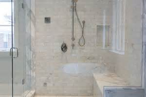 Walk-In Showers with Built in Bench Seat