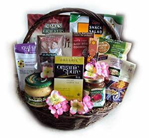 Healthy Mother's Day Gift Basket by Well Baskets: Amazon ...