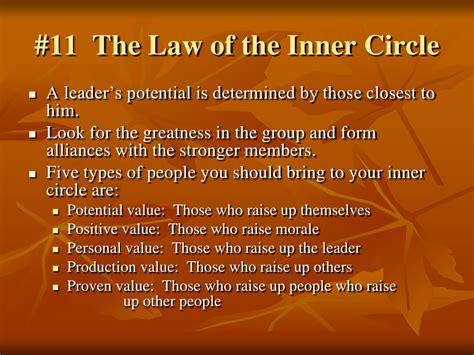 irrefutable laws  leadership john  maxwell