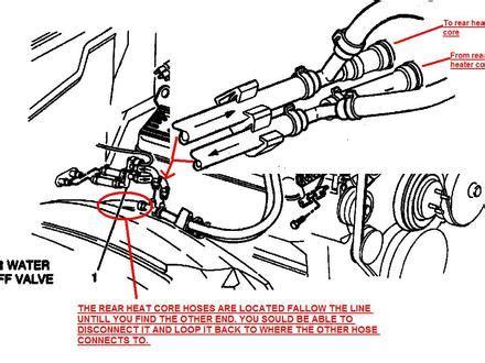 99 Suburban Vacuum Hose Diagram by 46 1999 Suburban Heater Hose Diagram 1999 Suburban 1500