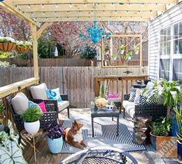 patio decorating ideas turning a deck into an outdoor